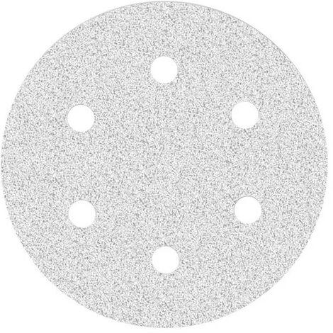 Disques abrasifs auto-agrippants MioTools, corindon normal avec stéarate, Ø 225 mm, G40–400