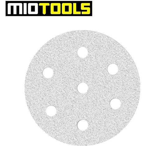 Disques abrasifs auto-agrippants MioTools, corindon normal avec stéarate, Ø 90 mm, G40–400