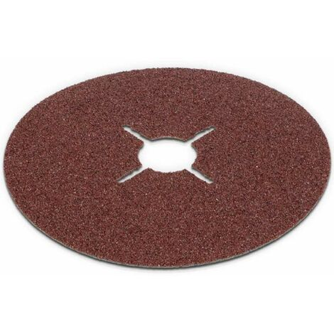 Disques abrasifs pour meuleuse 125 mm par lot de 5 Grain 60