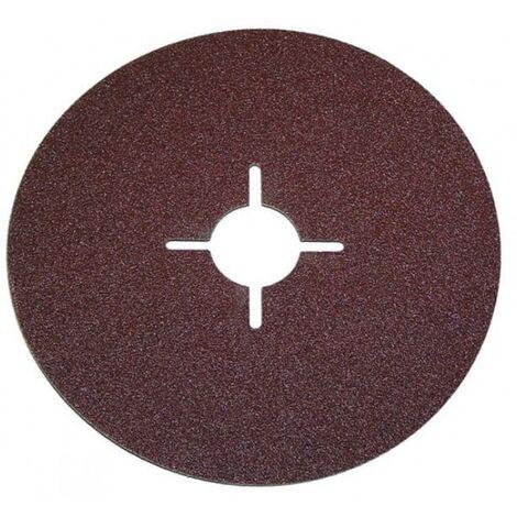Disques abrasifs sur fibre 3pcs 180mm p60 disc