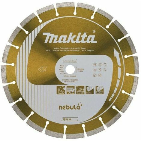 Disques diamant 125x22,23 mm NEBULA LASER pour béton - Makita – B-53992
