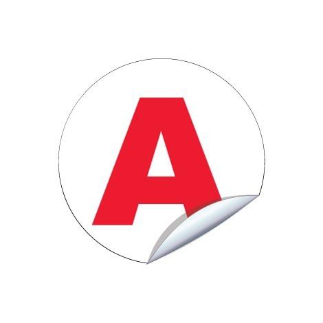 Disques jeune conducteur A - Ø 150mm Adhésif – Novap