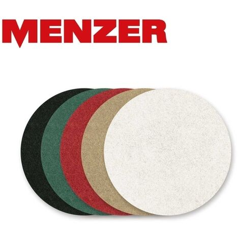 Disques Superpad MENZER, polyester, Ø 375 mm