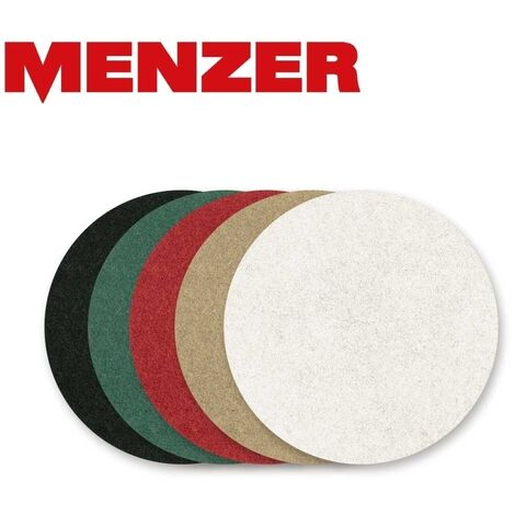 Disques Superpad MENZER, polyester, Ø 406 mm