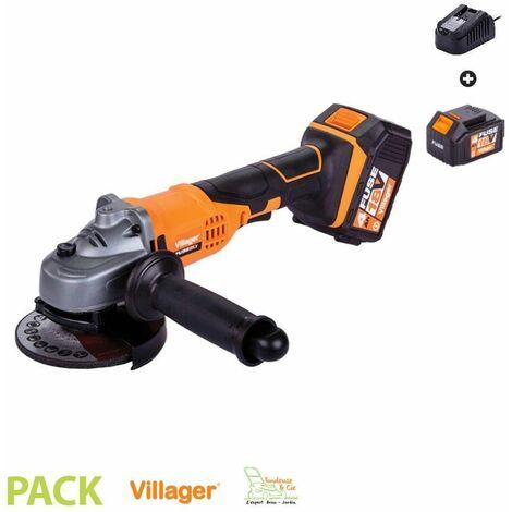 Disqueuse avec batterie et chargeur Fuse VLN 4320 - Orange