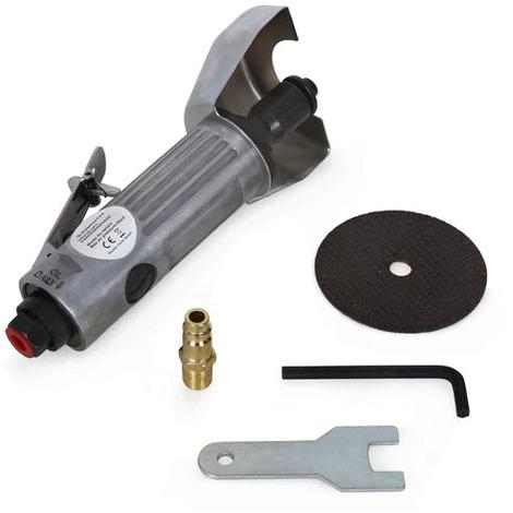 """main image of """"Disqueuse pneumatique Outil à découper carrosserie (20.000 rpm, 75 mm Disque de coupe, 1/4"""" Connectique air)"""""""