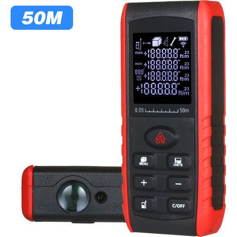 Distance Laser Numerique De Poche Metre Portatif Diastimeter Laser De Mesure De Distance Instrument Range Zone Finder Volume De Mesure Avec Indication D'Angle 70M