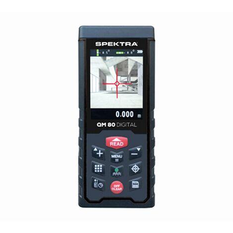 Distancemètre Laser Spektra QM80 Digital