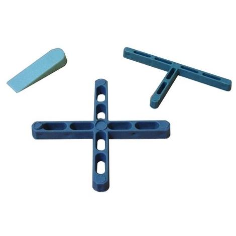 Distanziatori per Piastrelle in Plastica a T 2 mm Cf 250Pz