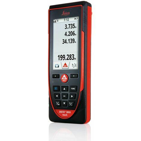 DISTO D810 TOUCH - Télémètre laser LEICA Bluetooth - trépied et adaptateur en coffret EN OPTION