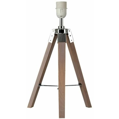 Distressed Tripod Table Lamp Base - White - White