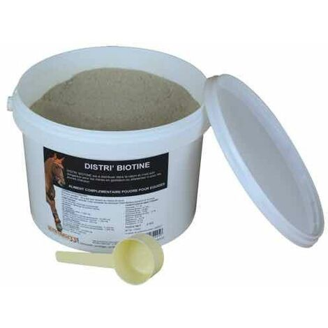 Distri'Biotine 2 kg - Biotine pour Cheval