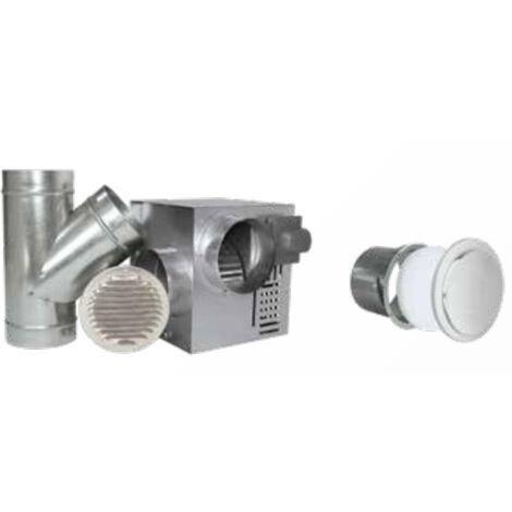 Distribuidor de aire caliente 400 m3 / H, 3/5 salidas aisladas de alto confort