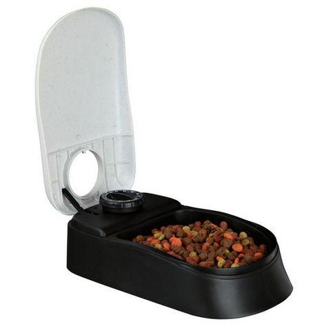 Distributeur automatique de croquettes 1 repas pour chien et chat. Désignation : Distributeur Trixie 24371