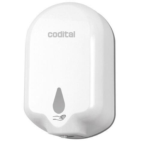 Distributeur automatique de gel hydroalcoolique sans contact