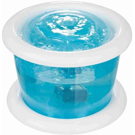 Distributeur automatique d'eau bubble stream - 3 L/ø 24 cm, bleu/blanc