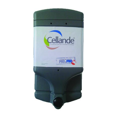 Distributeur CELLANDE Eco-Concept - 4L pour poche de savon - DISANVTRECE