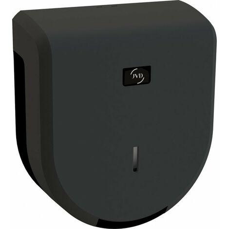 Distributeur de papier hygiénique Cleanline Jumbo 400 - Manuel - sécurisé - 400m - Noir epoxy