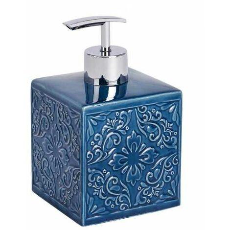 Distributeur de savon Cordoba bleu foncé WENKO