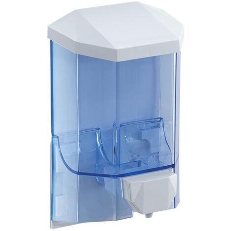 Distributeur de savon/désinfectant Gedy Snapper - Manuel - 450ml - blanc - (code 2092)