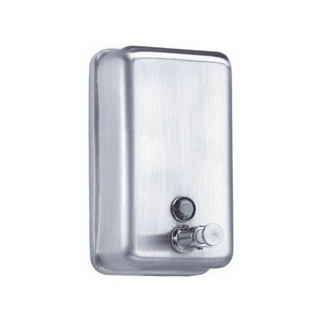Distributeur de savon liquide à pression Inox avec serrure