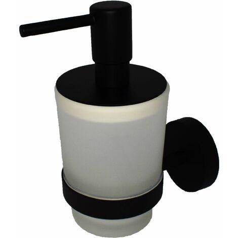 Distributeur de savon liquide noir mat Capannoli HP116 VSMM
