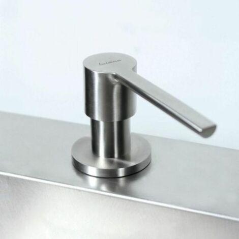 """main image of """"Distributeur de savon Luisina bec arrondi en inox massif"""""""