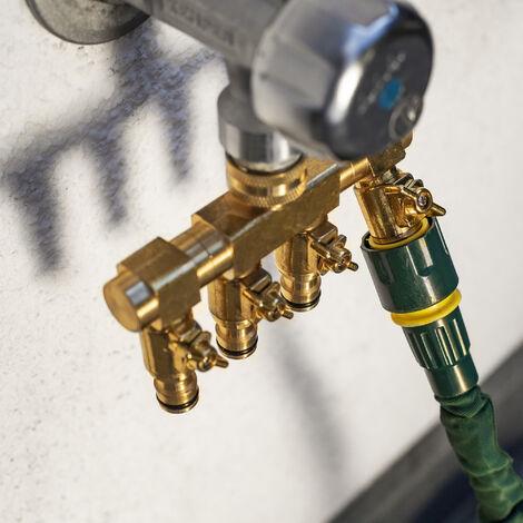 Distributeur d'eau à 2 voies - mécanisme de fermeture indépendant