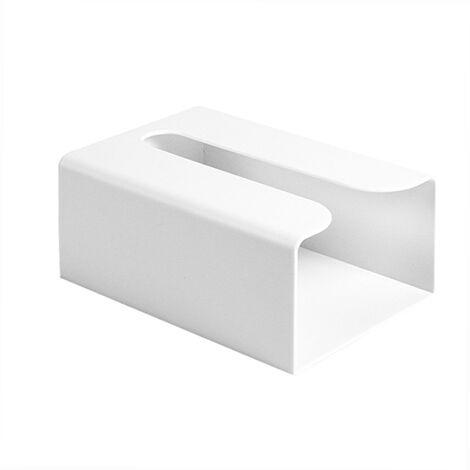 Distributeur D'Essuie-Mains Mural, Sans Per?age, Blanc