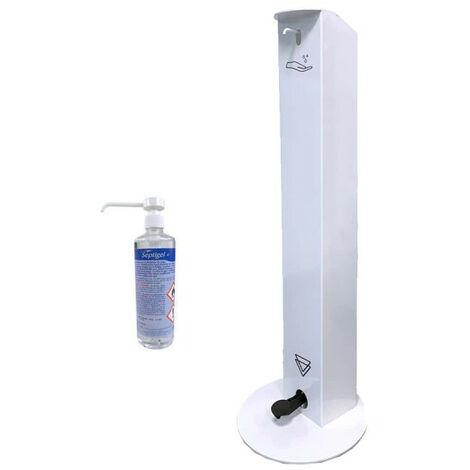 Distributeur sans contact OCCIGEL gel hydroalcoolique - Blanc