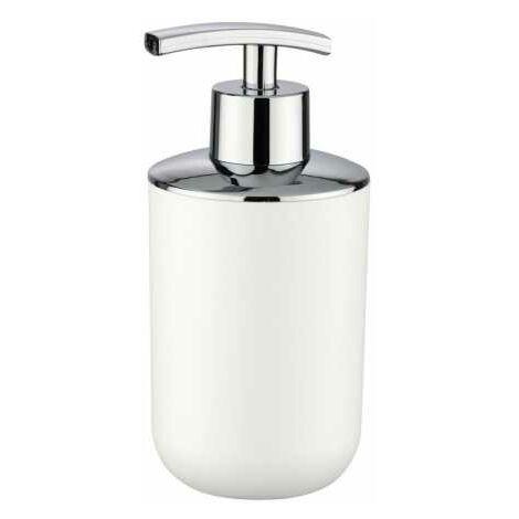 Distributeur Savon Liquide, Porte savon liquide, Brasil blanc WENKO