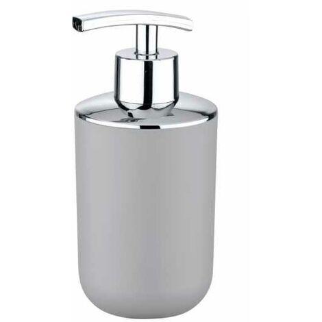 Distributeur Savon Liquide, Porte savon liquide, Brasil gris WENKO