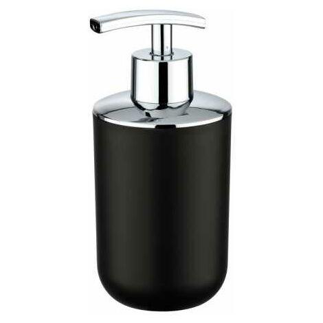 Distributeur Savon Liquide, Porte savon liquide, Brasil noir WENKO