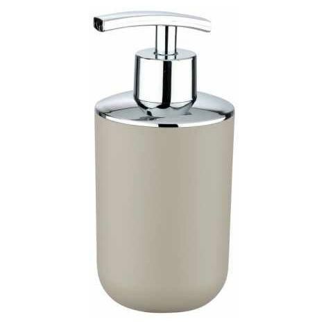 Distributeur Savon Liquide, Porte savon liquide, Brasil taupe WENKO