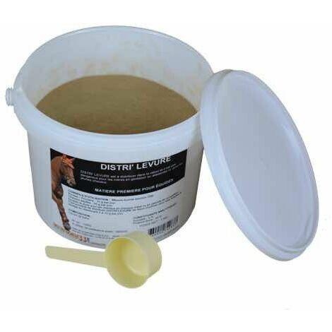 Distri'Levure - Levure de bière cheval - Contenance: 2.5 kg