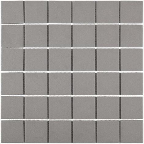 DISTRIMAT Carrelage mosaïque TECNIQ Gris 30x30 cm