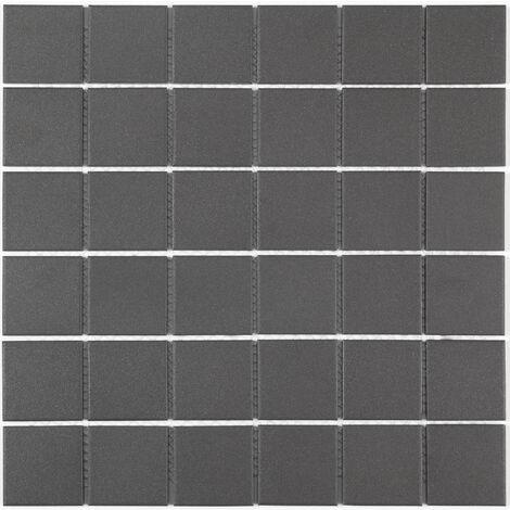 DISTRIMAT Carrelage mosaïque TECNIQ Noir 30x30 cm