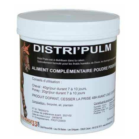 Distri'Pulm - Respiration cheval - Contenance: 400 gr