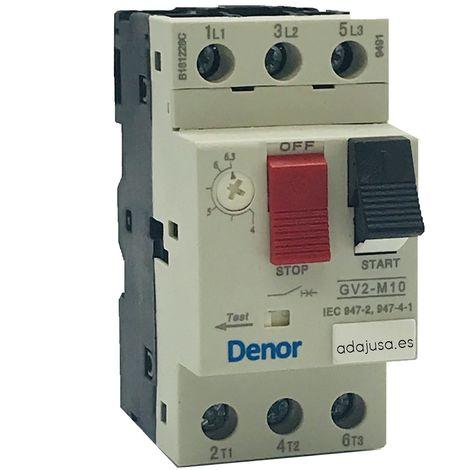 "main image of ""Disyuntor guardamotor 4 a 6,3 A."""
