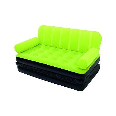 Divano Letto Gonfiabile Bestway.Divano Letto Gonfiabile Sofa Bed Con Pompa 5 In 1 Bestway