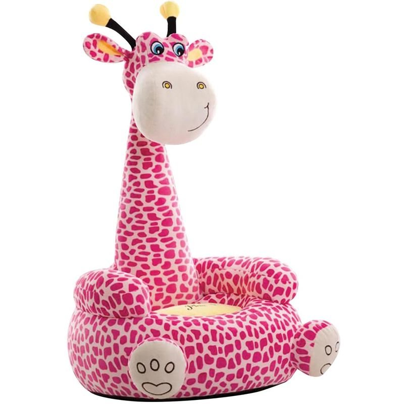 Kaliya Poltrona Kid Divano Giraffa Cartoon Animal Chair Decorazione per la casa Cameretta per Bambini