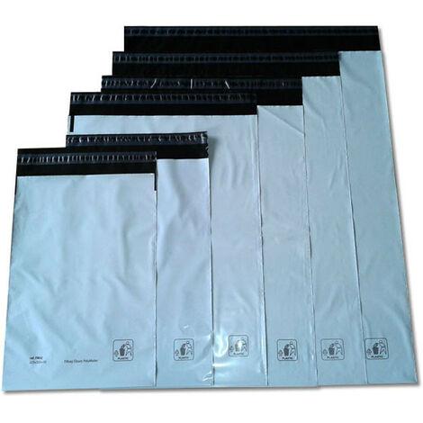 divers Pack de 100 enveloppes plastiques FB07 - 450 x 550mm (FB07)