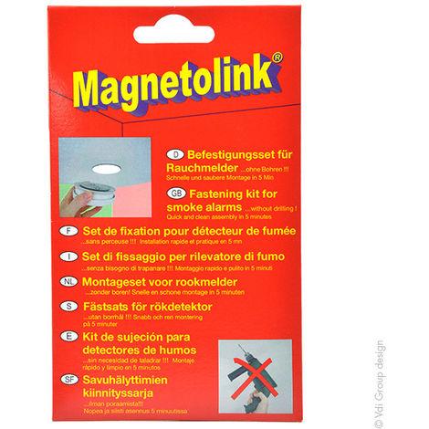 Divers - Sistema de fijación para detector de humo Magnetolink