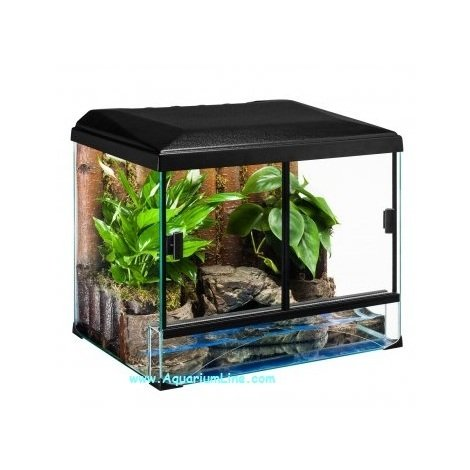 Diversa Kit Terrario Turtle cm30x25x25h