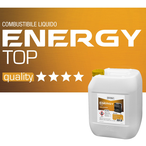 Divina-fire Combustible liquide 18 L ENERGY TOP