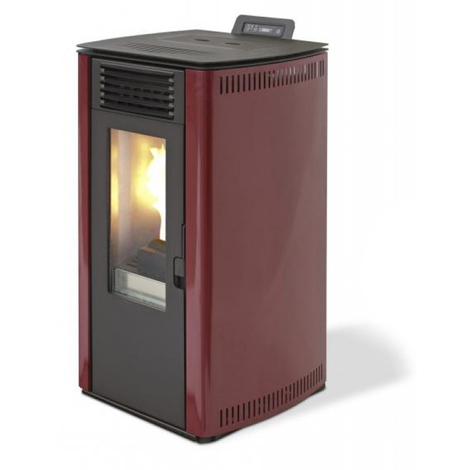 Divina-fire Pelletofen 8.24kw 200mc Bordeaux Rosita74 DF71601