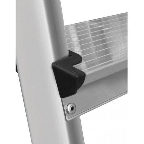 Divina Home Scala domestica in alluminio 6 gradini pioli portata 120kg DH53833