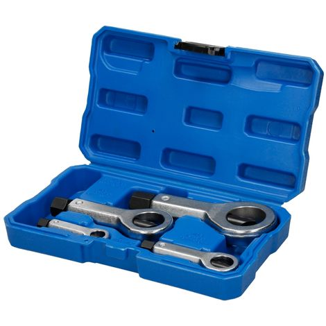 Divisor de tuerca conjunto 4 piezas en caja de plástico separador herramienta