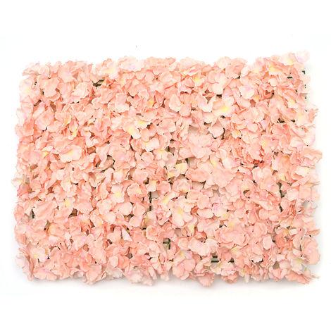 DIY Artificial Flowers Wall Roll 60x40cm For Home Decor Wedding Sasicare