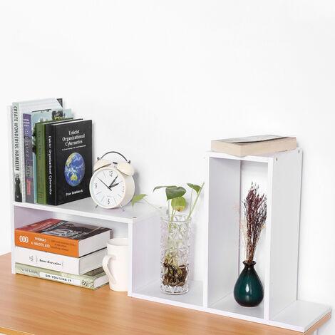 DIY Desktop Storage Rack Mini Display Book Shelf Organizer Holder Desk Bookcase